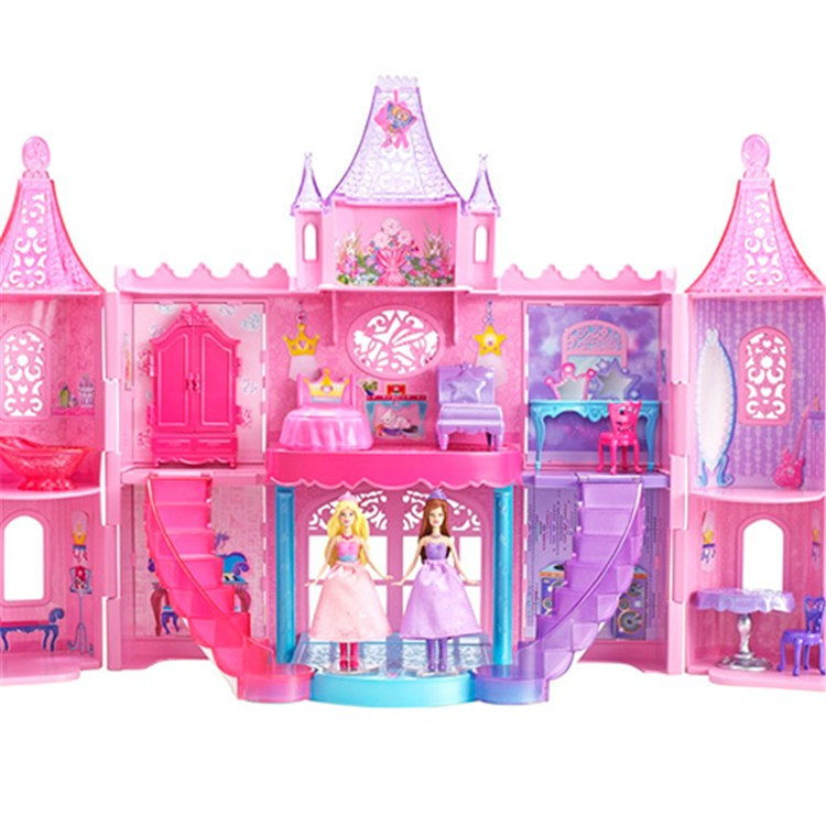 Barbie A Princesa E Pop Star Castelo Mini Princesas Mattel