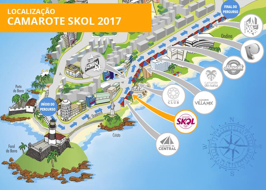 Localização Skol 2017