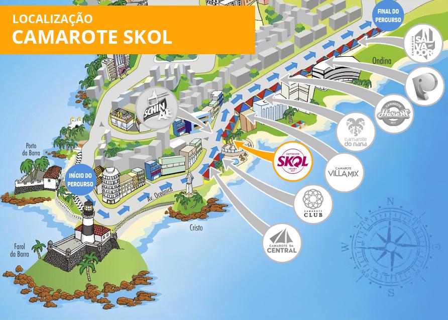Localização Skol