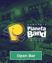 Camarote Planeta Band Open Bar 2020